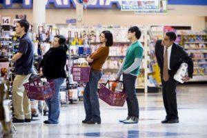 queue-supermarche